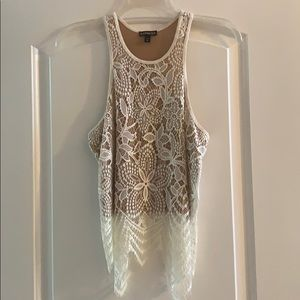 Women's express lace top